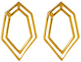 Botkier Open Geometric Twist Drop Earrings