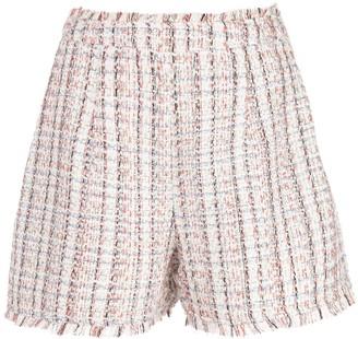 Cinq à Sept Coronado tweed shorts
