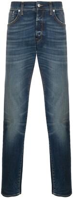 DEPARTMENT 5 High-Rise Straight Leg Jeans