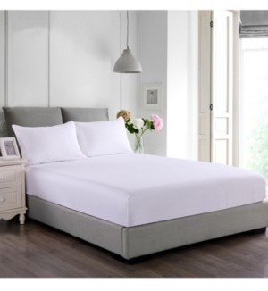 Epoch Hometex Inc Cottonloft Stayclean Cotton Water and Stain Resistant Fitted Bed Protector Set Bedding