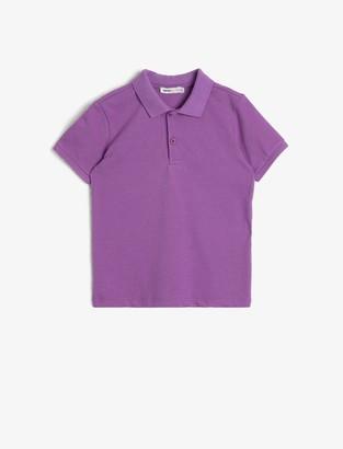 Koton Boy's Basic Poloshirt T-Shirt