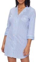 Lauren Ralph Lauren Stripe Knit His Sleep Shirt