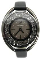 Swarovski 5158517 Crystalline Oval Black-Tone Ladies Watch