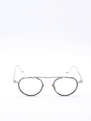 Jacques Marie Mage Round Frame Glasses