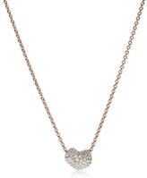 Monica Vinader Nura Mini Heart Necklace