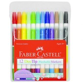 Faber-Castell Duo Tip Markers, 12ct