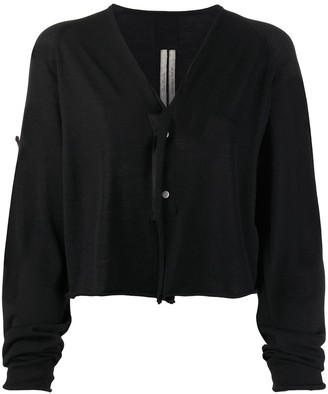 Rick Owens Dropped Shoulder Cardigan