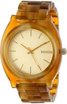 Nixon Women's A327-1423-00 Time Teller Acetate Analog Display Watch