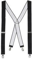 Black Polka Dot Suspenders