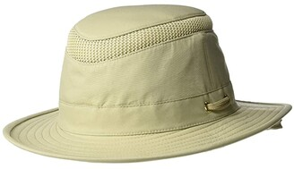 Tilley Endurables AIRFLO Medium Brim (Khaki/Olive) Traditional Hats