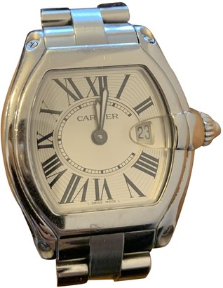 Cartier Roadster Anthracite Steel Watches