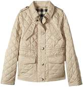 Burberry Neals Quilted Jacket Girl's Coat