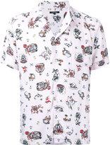 GUILD PRIME tattoo print shirt - men - Rayon - 1