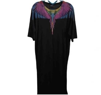 Marcelo Burlon County of Milan Black Cotton Dresses