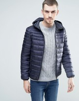 Celio Quilted Jacket with Hood