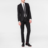 Paul Smith Men's Tailored-Fit Black Wool 'Suit To Travel In'