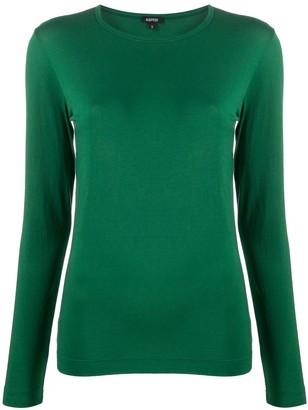 Aspesi round neck long-sleeve T-shirt