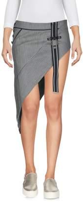 Anthony Vaccarello Denim skirts