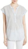 Soft Joie Women's Grainger Check Cotton Top