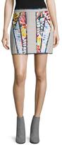 BCBGMAXAZRIA Andrick Printed Quilted Skirt