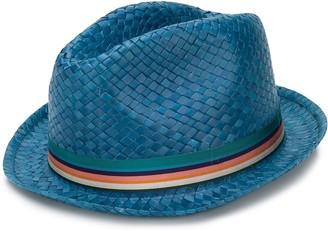 Paul Smith woven fedora hat