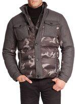 Michael Kors Camo Puffer Jacket