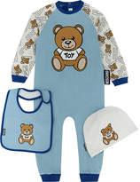 Moschino Teddy bear onesie set 1-12 months