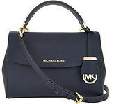 MICHAEL Michael Kors Michael Kors Small Ava Leather Crossbody Bag