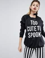 PrettyLittleThing Halloween Sweatshirt
