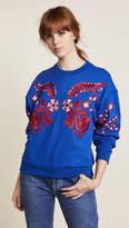 Cynthia Rowley Bleecker Embroidered Sweatshirt