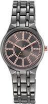 Nine West Dionysia Gunmetal Bracelet Watch