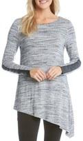 Karen Kane Women's Asymmetrical Knit Top