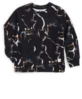 Molo Girl's Marina Moon Cats Sweatshirt