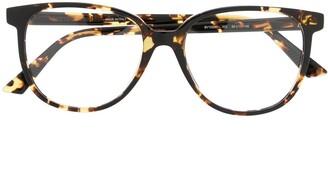 Bottega Veneta Rounded Frame Glasses