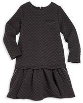 Lili Gaufrette Toddler's & Little Girl's Long Sleeve Dress