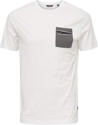 ONLY & SONS Printed Cotton Pocket Tee