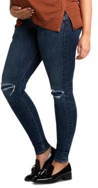 Silver Jeans Co. Suki Skinny-Leg Maternity Jeans