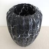 Kelly Wearstler Fluted Large Vase - Negro