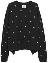 Zoe Karssen Heart Sweatshirt