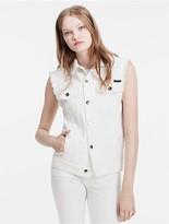 Calvin Klein Destructed Denim Vest