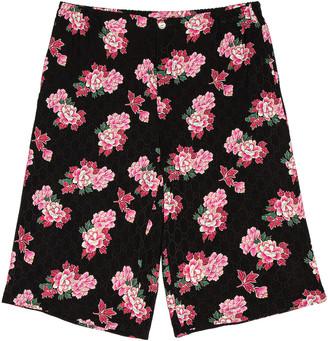 Gucci Shorts in Black & Pink & MC   FWRD