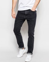 Levis Levi's Jeans 510 Skinny Fit Stretch Funny Name Washed Black