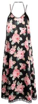 Thumbnail for your product : R 13 Floral Midi Slip Dress