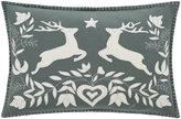 Jan Constantine Grey Jumping Deer Cushion