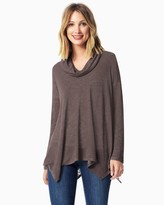 Charming charlie Comfy Cowl Neck Tunic