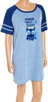 Blue 'Monday Makes Me Sleepy' Sleep Shirt