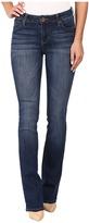 KUT from the Kloth Natalie Kurvy Bootcut Jeans in Lift w/ Dark Stone Base Wash