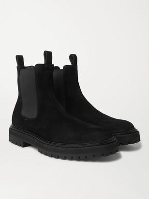 Officine Creative Pistols Suede Chelsea Boots