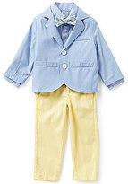 Class Club Little Boys 2T-7 Chambray 4-Piece Suit Set