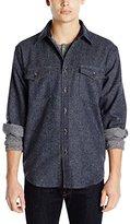 Pendleton Men's Classic Fit Cascade Wool Denim Shirt